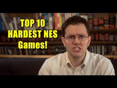 Top 10 Hardest Nes Games Avgn Clip Collection Youtube
