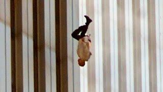 Люди падают из башен ВТЦ 11 сентября 2001 года