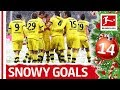 Top 10 Goals in Snowy Conditions - Bundesliga 2018 Advent Calendar 14