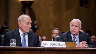 Gen. Kelly Discusses Proposed Mexican Border Wall