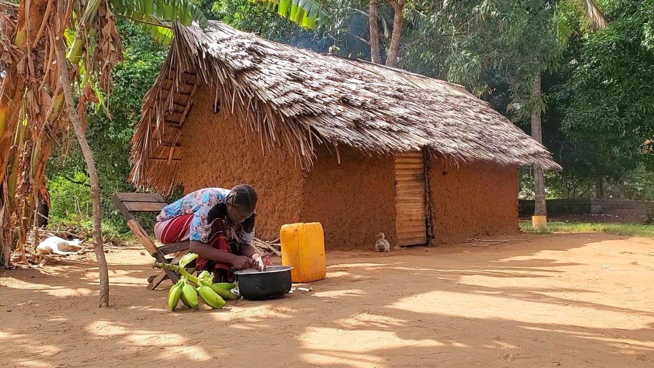 Download Rural Village Lifestyle In Africa|| Tasty Banana Bokoboko|| How to make banana meal|| Africa Village