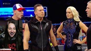 WWE Smackdown 1/17/17 John Cena instigates Miz and Styles