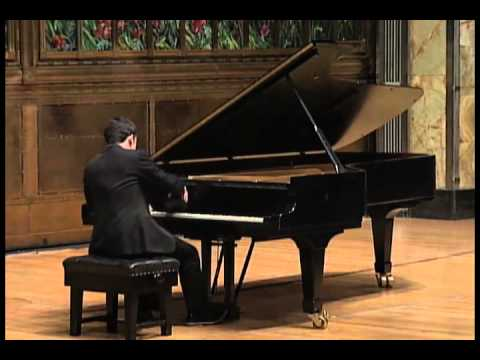 Inon Barnatan plays Schubert sonata in c minor D.958: Mvt. II
