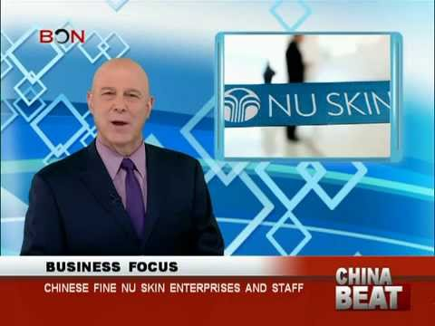 Chinese fine Nu Skin enterprises and staff - China Beat - Mar 25,2014 - BONTV China