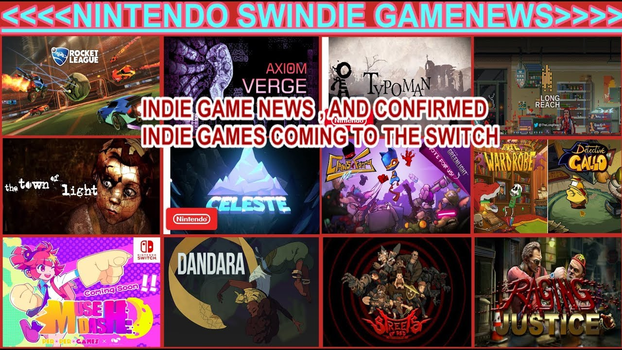 Nintendoswindie Gamenews Indie Games Confirmed Coming