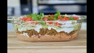 Best Recipe Videos Of Seven Layer Taco Dip Food Appetizers