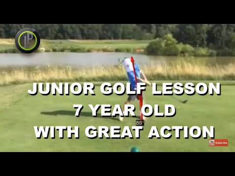 Junior Golf Instruction | 7 Years of Age