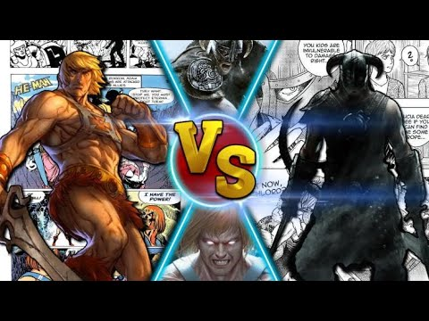 He Man vs The Last Dragonborn |