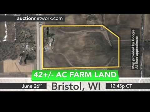 Bristol and Racine, WI Land Auctions