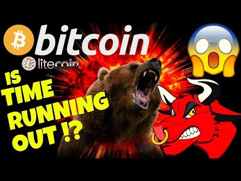 ⏲BITCOIN IS TIME RUNNING OUT ?⏲bitcoin Litecoin Price Prediction, Analysis, News, Trading