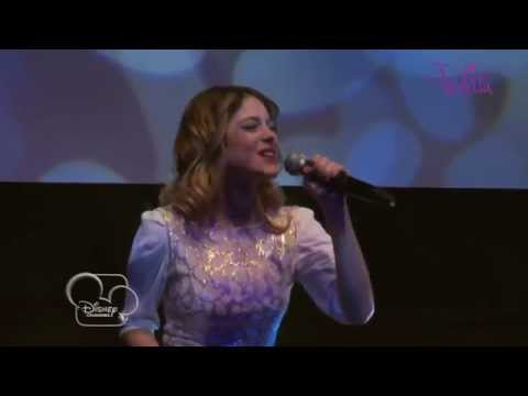 Showcase Violetta - Medley (version acoustique) - Exclusivité Disney Channel !