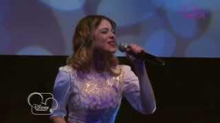 Showcase Violetta - Medley (version acoustique) - Exclusivité Disney Channel !