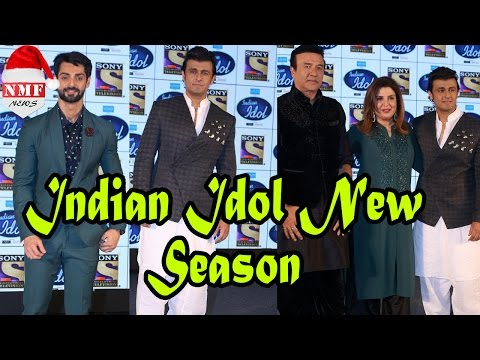 Indian Idol New Season 9 | Press Conference | Anu Malik, Sonu Nigam, Farah Khan