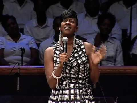 LeAndria Johnson ministers at Mt Zion