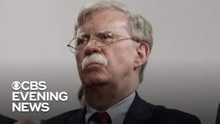 John Bolton breaks his silence on Twitter