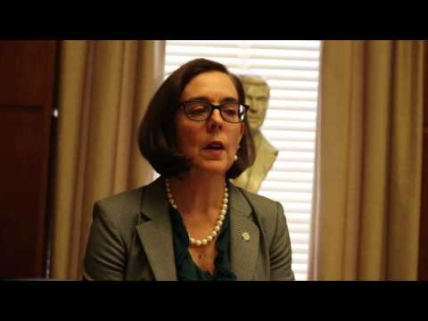 Governor: Oregon gives hope to oceanic nations