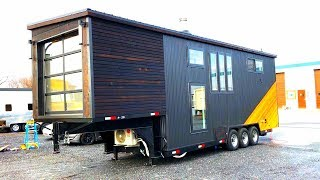 Beautiful Gooseneck Tiny House Has It All