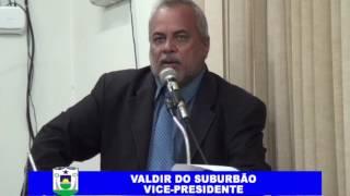 Valdir do Suburbão em Pronunciamento 20 04 2017