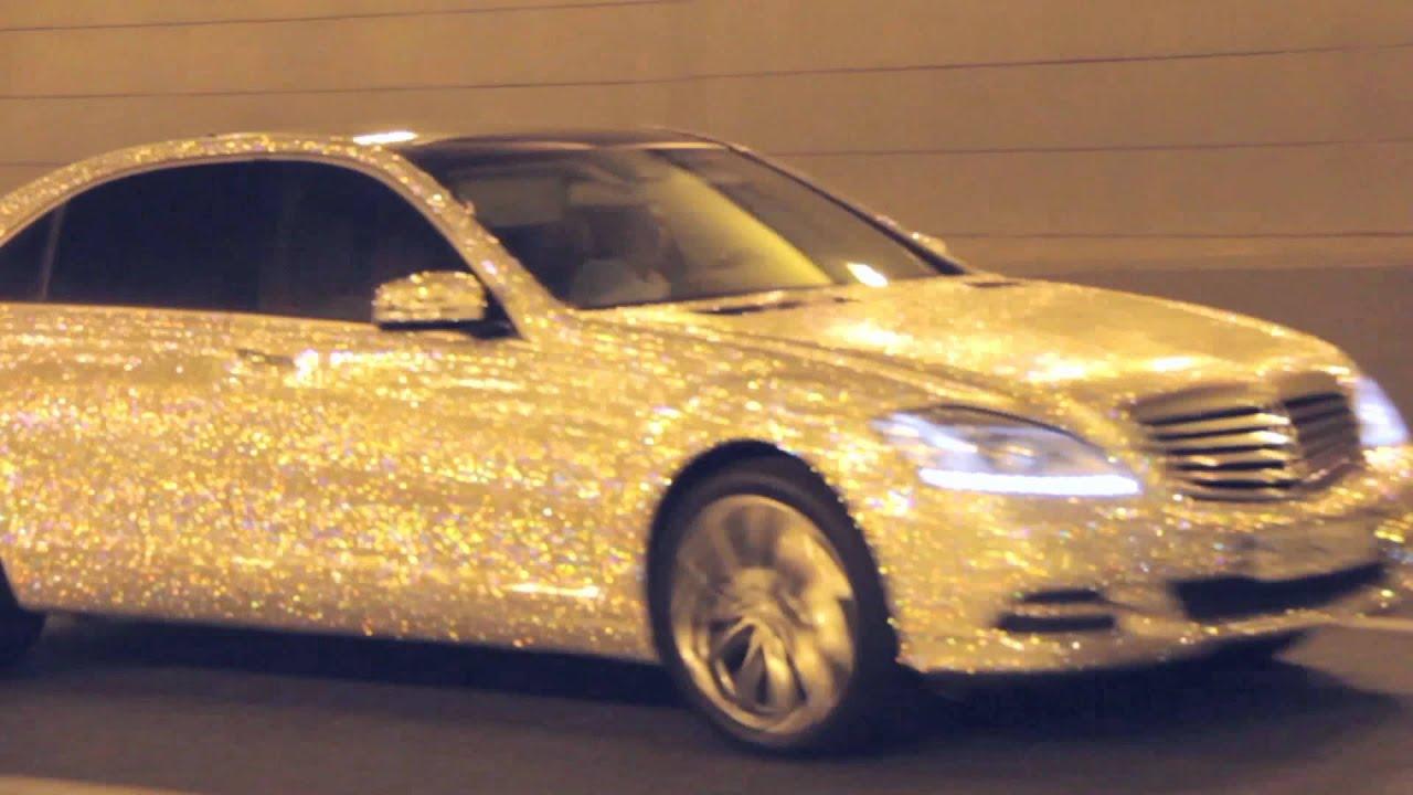 Bije.ru: Круглые серьги с покрытием белым золотом и кристаллами .
