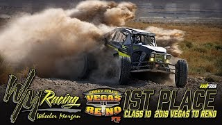 Wheeler Morgan WINS the 2019 Best in the Desert Vegas to Reno!