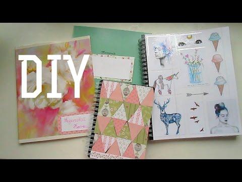 Cмотреть видео DIY украшаем тетрадки и ежедневники своими руками