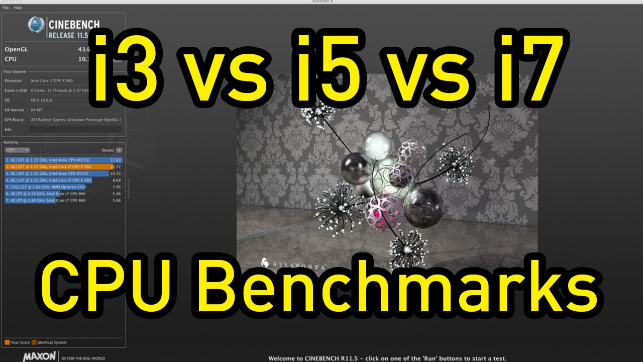 Intel Core i3 vs i5 vs i7 CPU Encoding Benchmarks