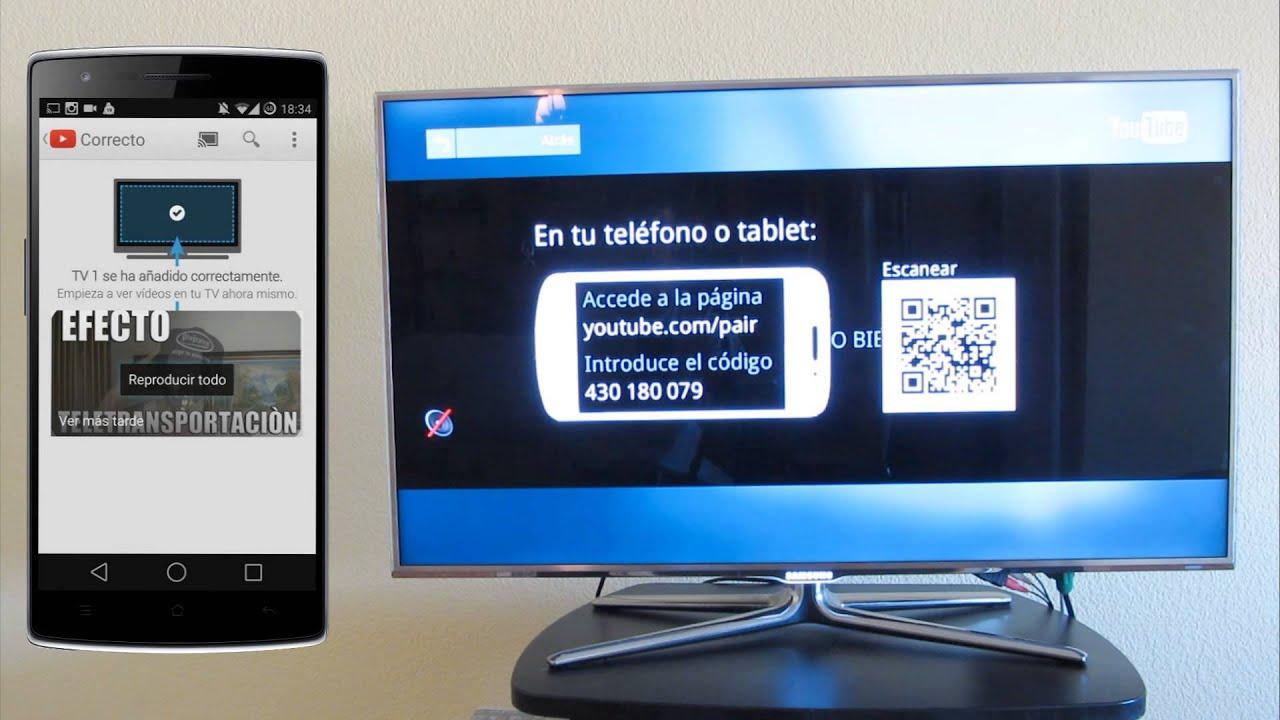 fa23646793a Como Conectar La SmartTV Con Tu Smartphone en 1 min - Youtube - YouTube