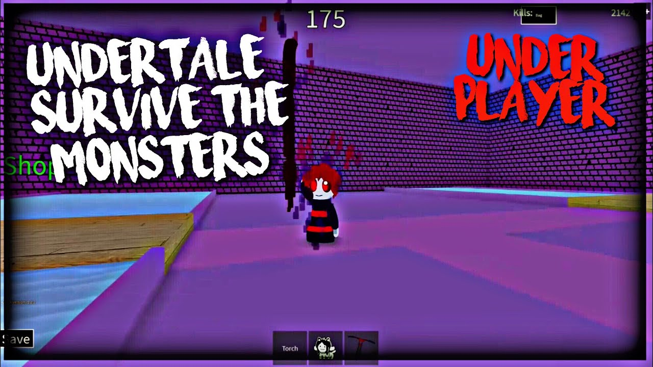 Roblox Undertale Survive The Monsters: Underplayer