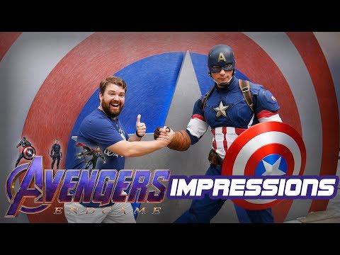 Doing Impressions To Avengers At Disneyland! - Disneyland Impressions