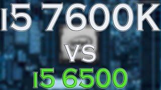 i5 7600k vs i5 6500 benchmark gaming tests review and comparison kaby lake vs skylake