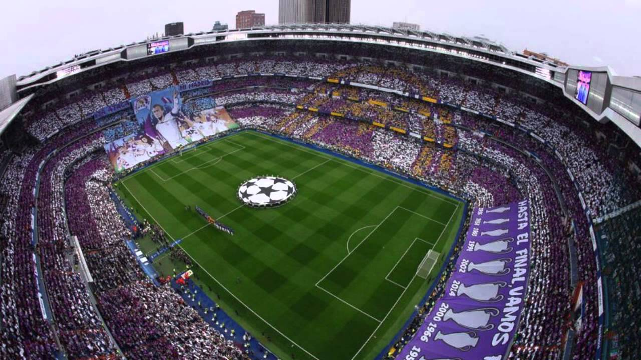 FANS RMCF - Vamos Real Madrid (Descontrolado) - (Con Letra) - YouTube