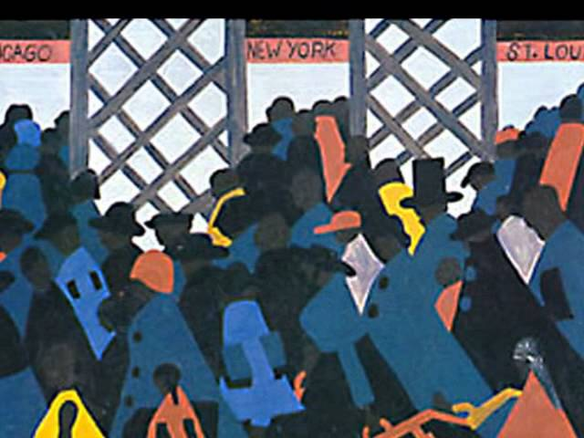 Jacob Lawrence - John Coltrane Music
