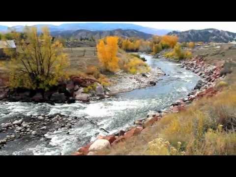 Autumn on Eagle River near Eagle, Colorado