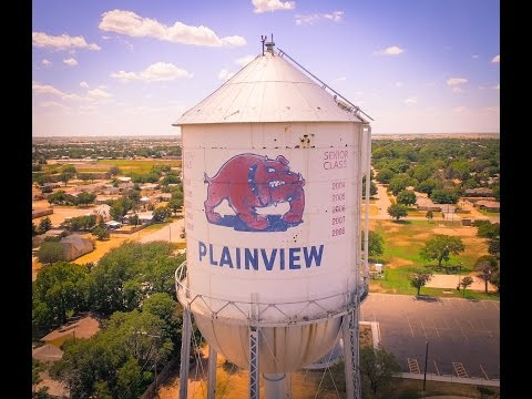 Plainview TX Bulldog Water Tower 12th and Smyth