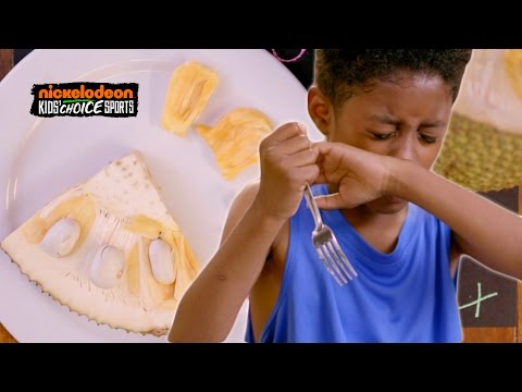 Thumbnail: Kids Try Pro Athlete Meals For The First Time // Presented by BuzzFeed & Nickelodeon