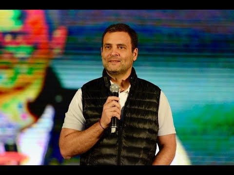 LIVE: Congress President Rahul Gandhi at an interaction with university students from Delhi