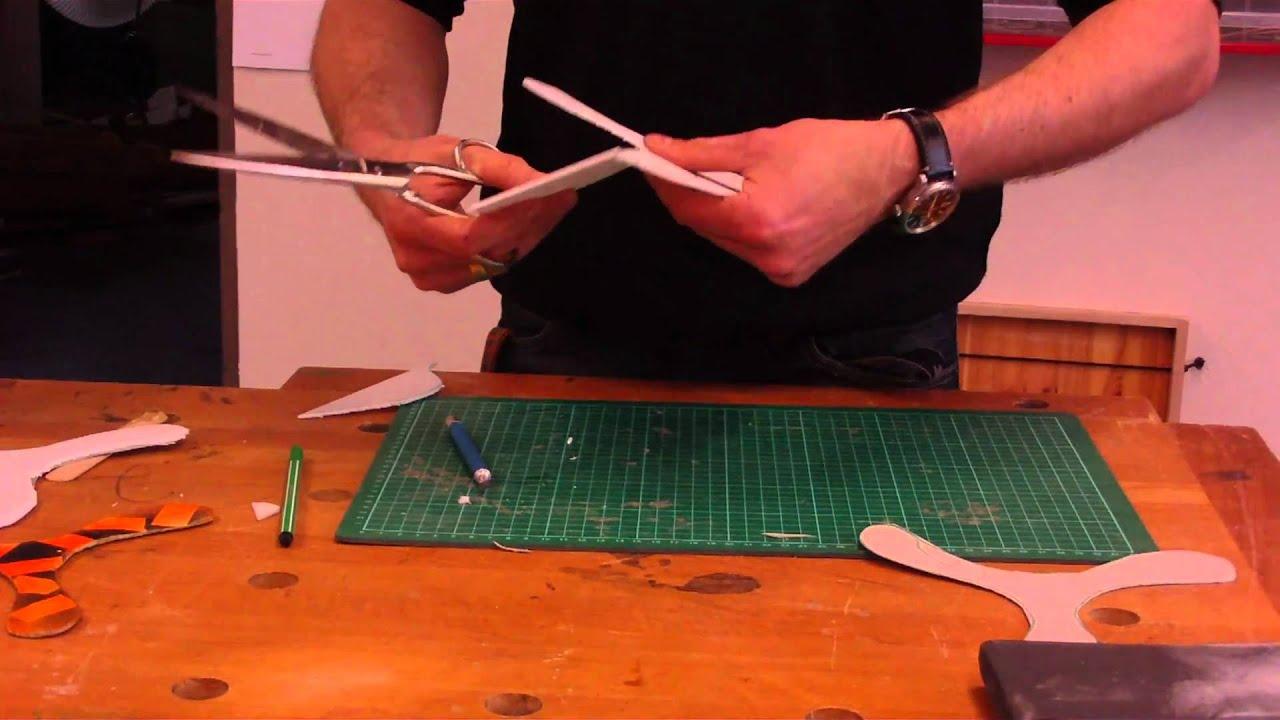 Einfacher Bumerang / \