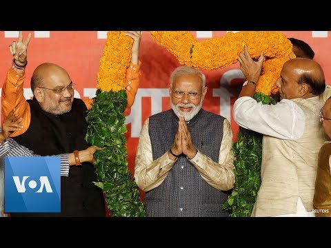 Indian Election 2019: Prime Minister Narendra Modi Scores Historic Election Victory