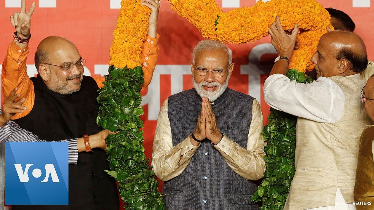 Indian Election 2019: Prime Minister Narendra Modi Scores Historic Election Victory