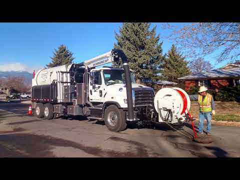 900 ECO Combination Sewer Cleaner By Sewer Equipment Co. Of America