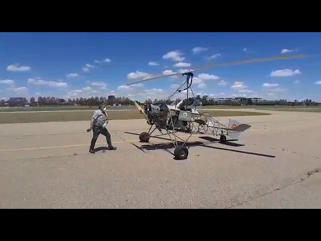 Autogiro C30, Asociación Juan de la Cierva, primera prueba en tierra