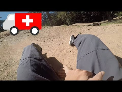 I STACKED RIDING DIRT JUMPS *CRASH*