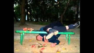 Betrunkene Leute / drunken people
