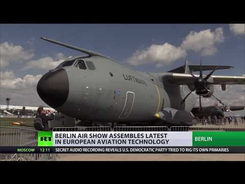 Drones & fighter jets: Berlin air show assembles latest in European aviation technology