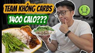 EP 92: CHẾ ĐỘ ĂN 1400 CALO  Ngày ăn SIÊU ÍT   An Nguyen Fitness