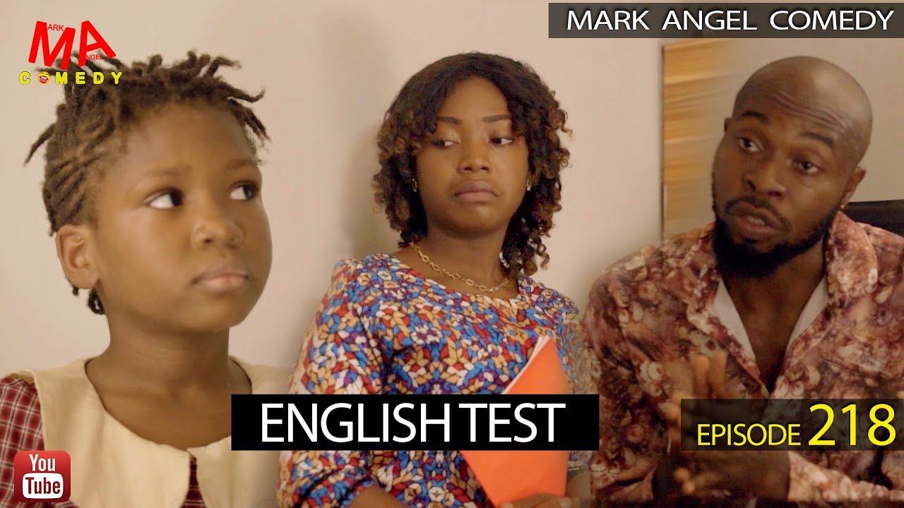 Download ENGLISH TEST (Mark Angel Comedy) (Episode 218)