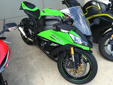 2014 ZX10r Test Ride - YouTube