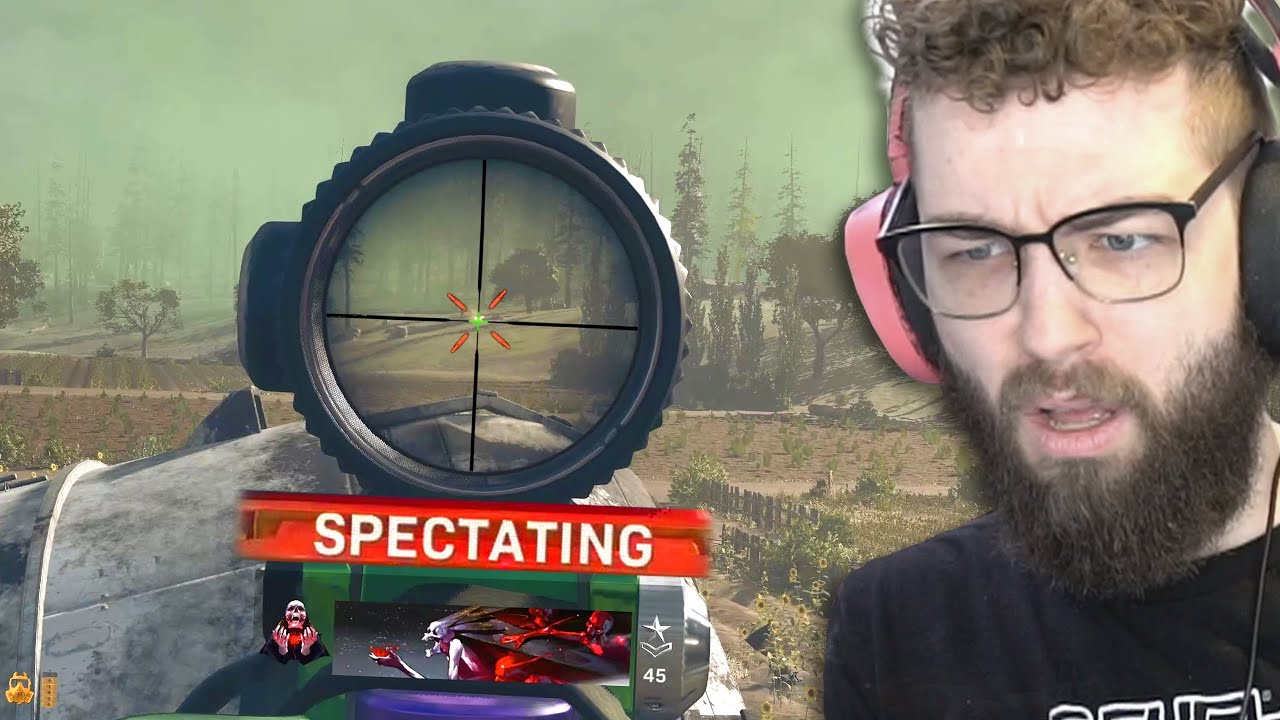 SPECTATING a CHEATER'S FINAL MOMENTS in WARZONE SOLOS
