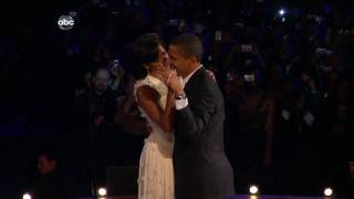 {HD/720P} Barack & Michelle Obama First Dance HIGH DEFINITION 720P Neighborhood Ball