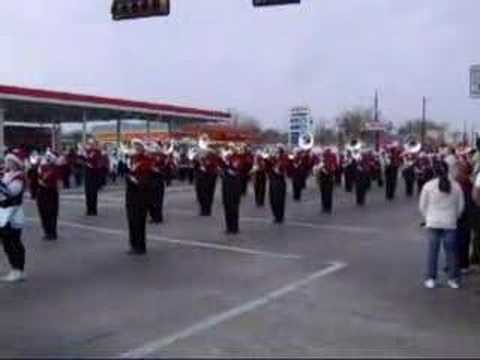 Terrell Texas High School Marching Band